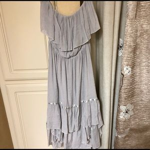 Beautiful women's hi-low strapless dress NWOT